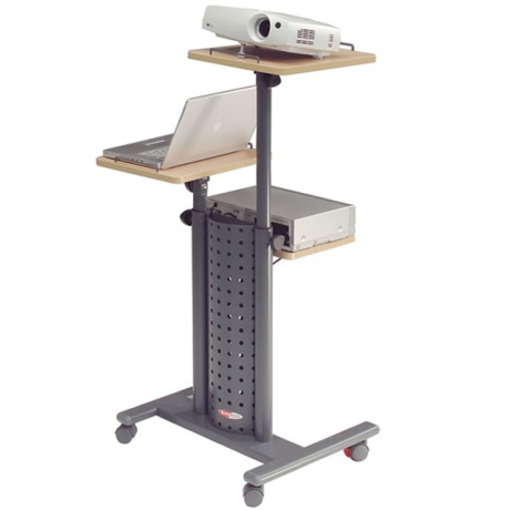 Deluxe Mobile Multi Media Projection Trolley